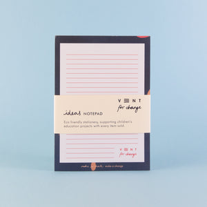 Recycled Ideas Notepad - Blue