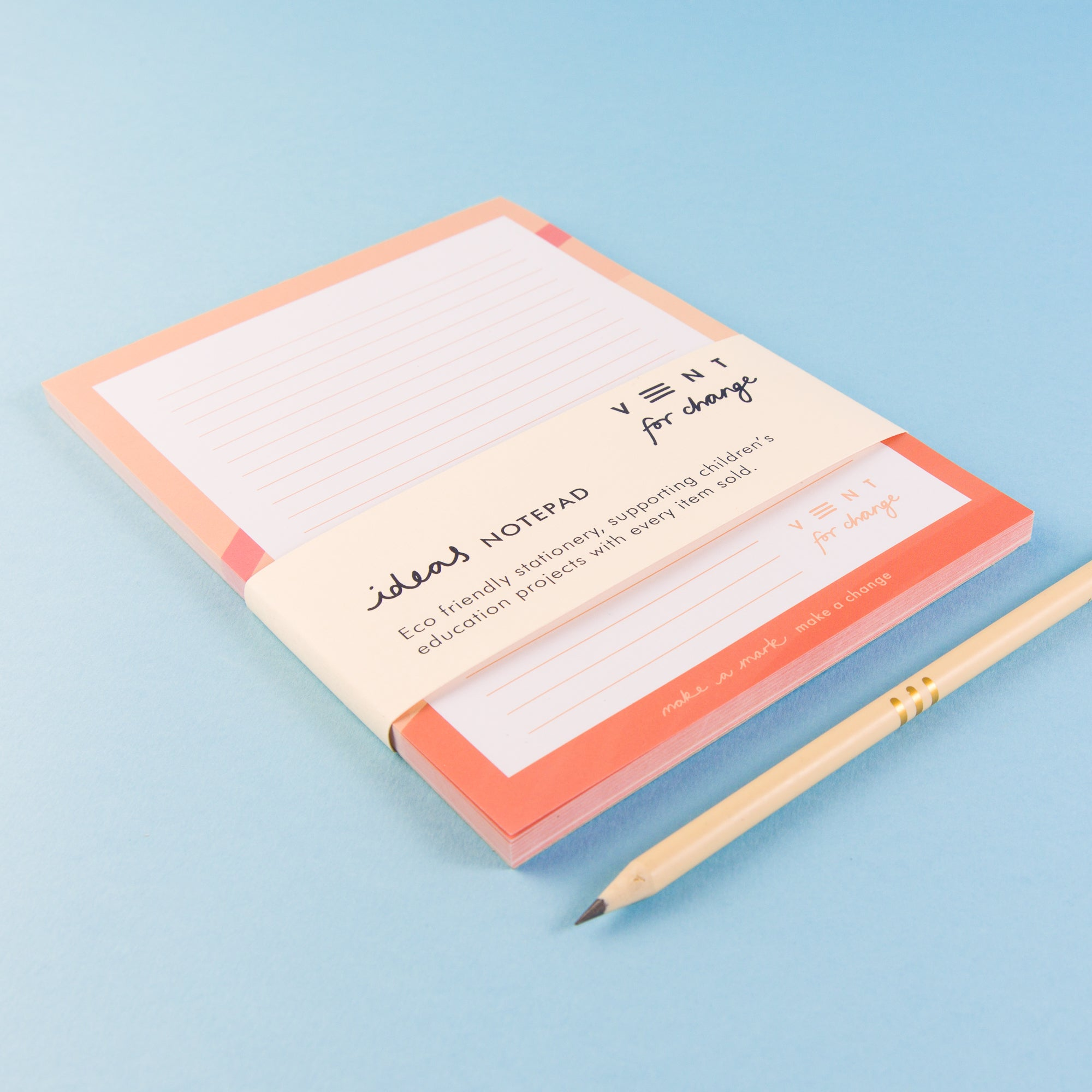 Recycled Ideas Notepad - Pink