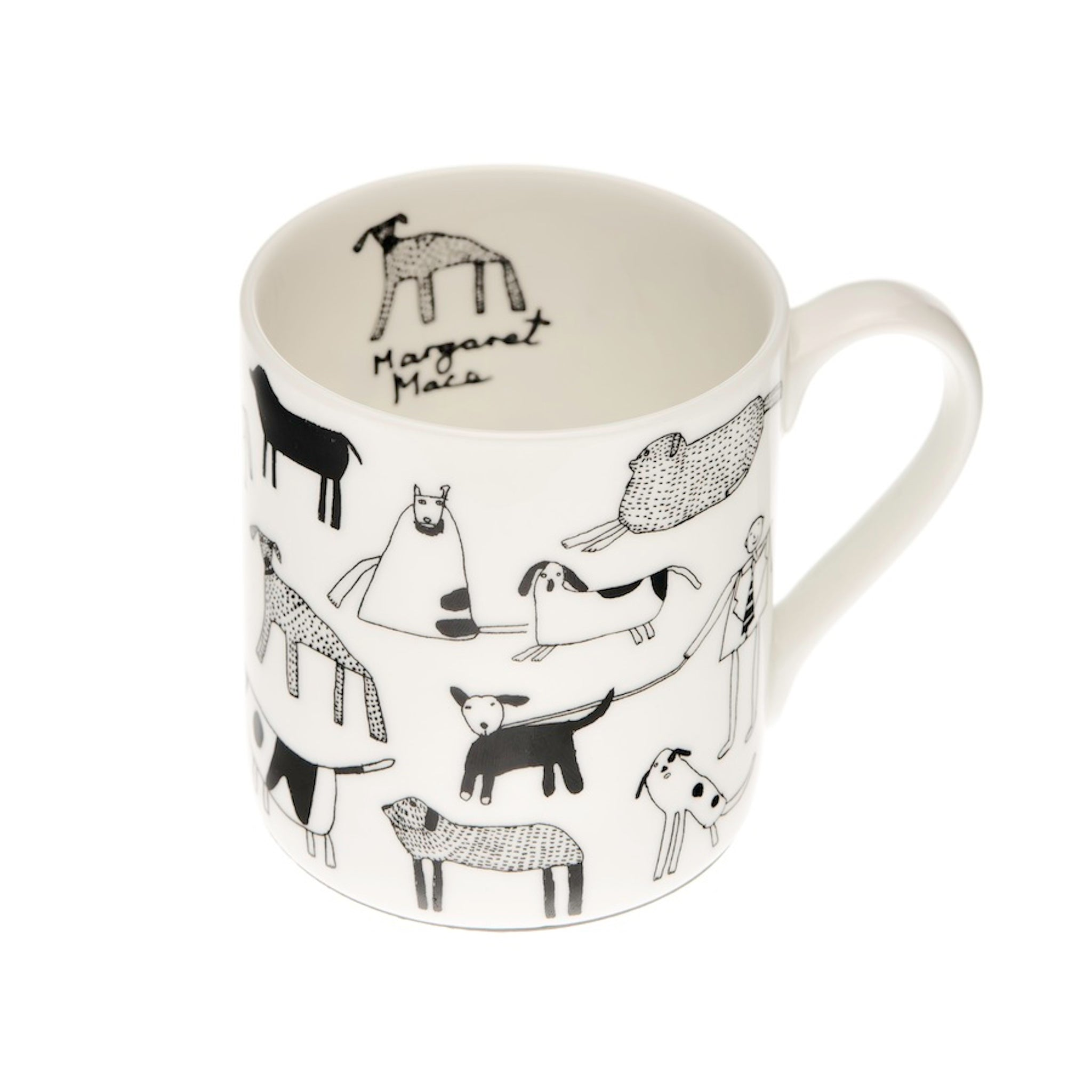 'Dogs' Fine Bone China Mug