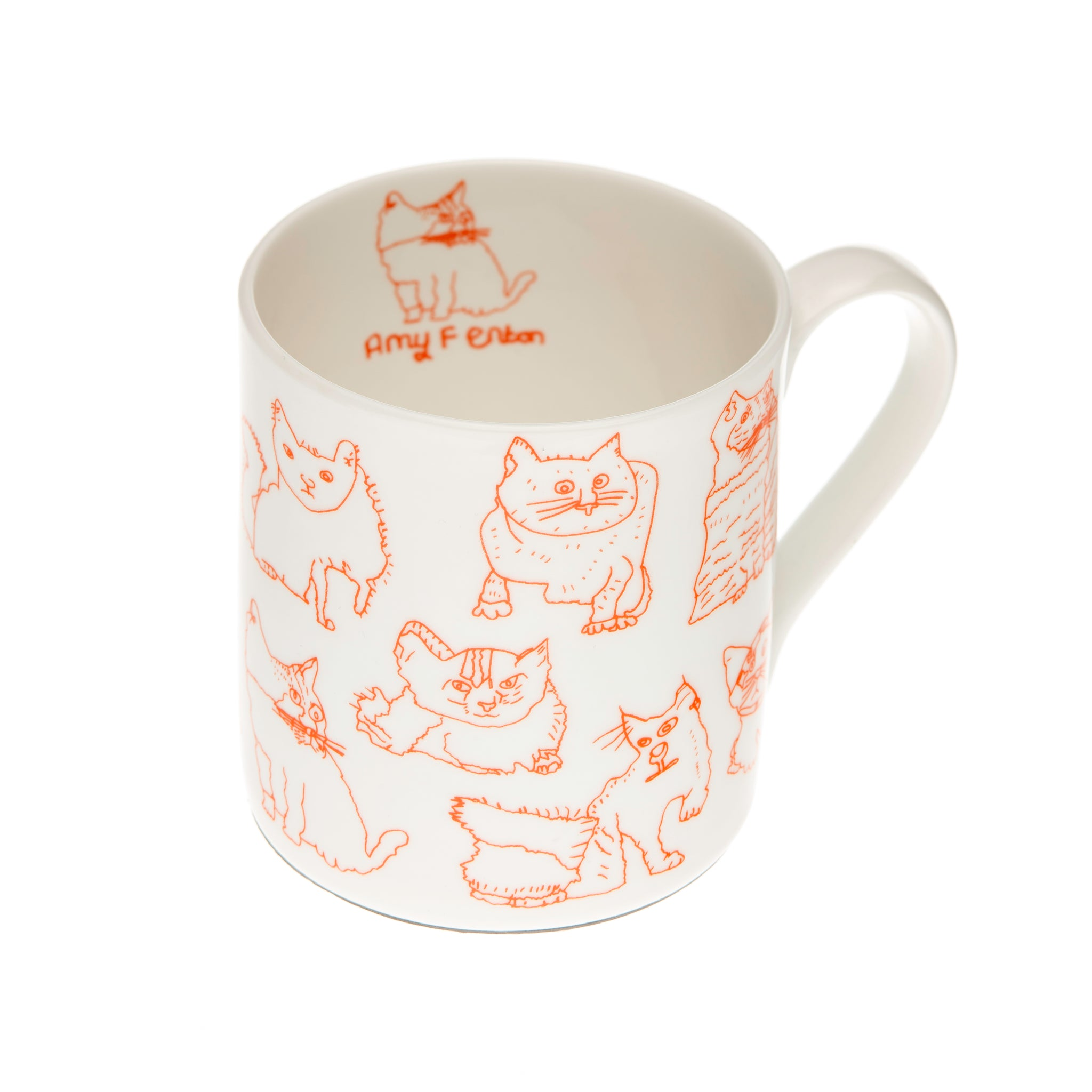 'Cats' Fine Bone China Mug