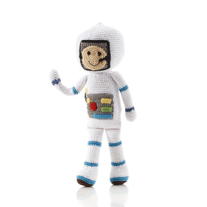 Hand-Knitted Astronaut Doll