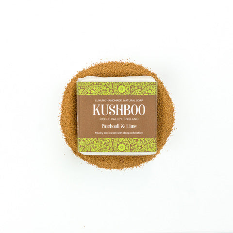 Patchouli & Lime - Musky, Sweet & Exfoliating