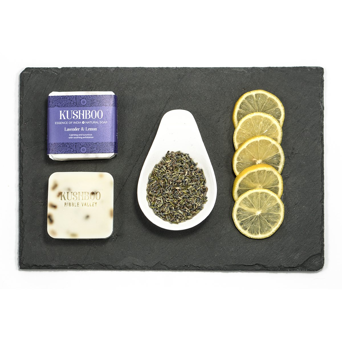 Lavender & Lemon Soap - Calming, Luxurious & Gently Exfoliating