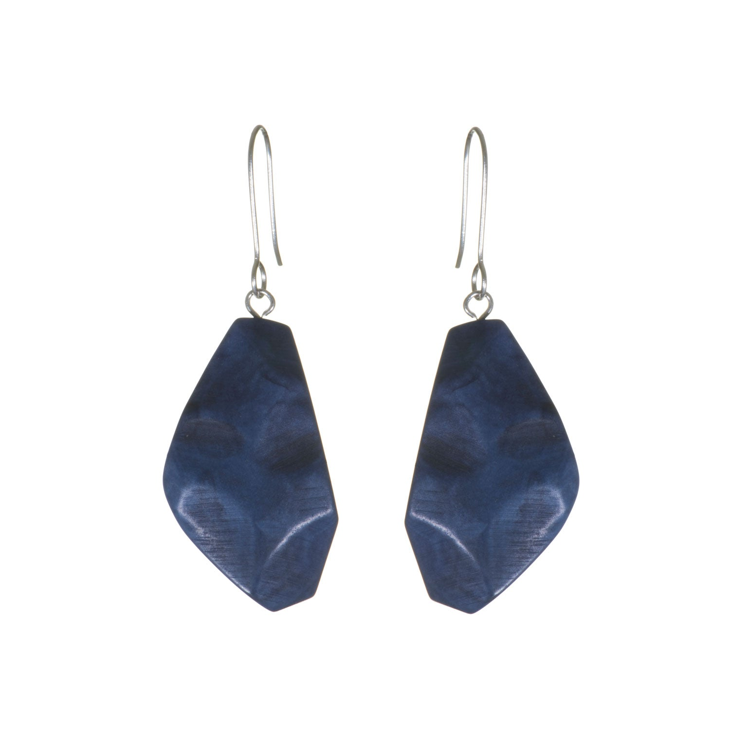 Tagua 'Rachel' Irregular Earrings