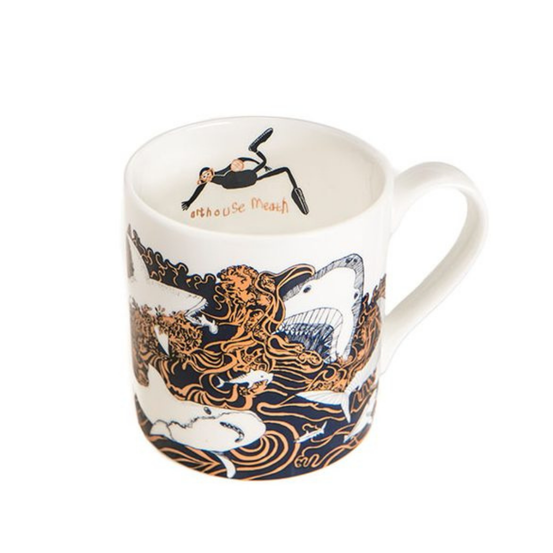 'Sharks' Fine Bone China Mug