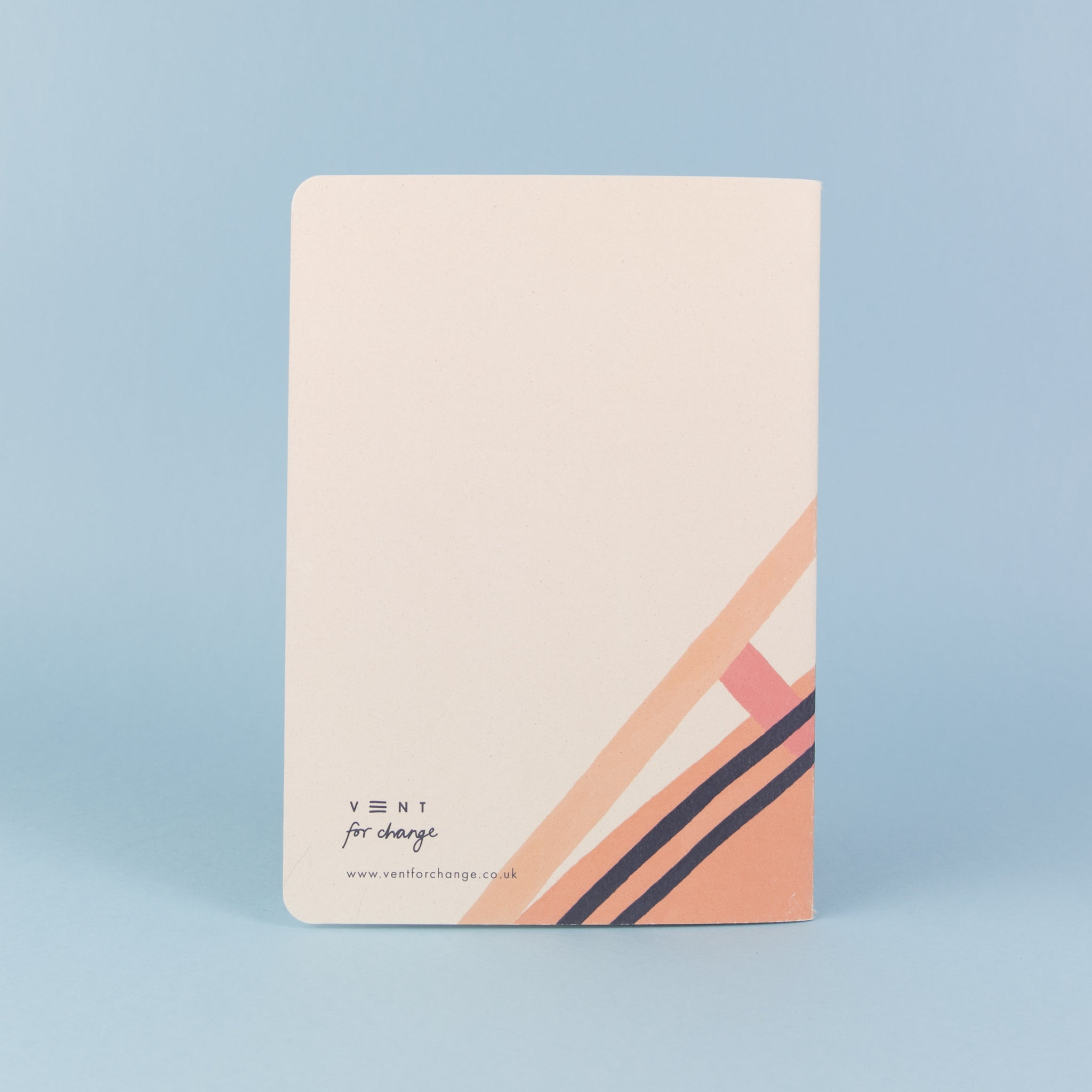Recycled Soft Cover A5 Notebook – Ideas Pink