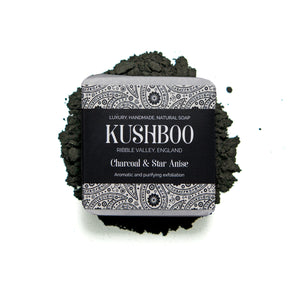 Charcoal & Star Anise Soap - Aromatic & Purifying