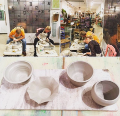 Private Pottery Class for Two!