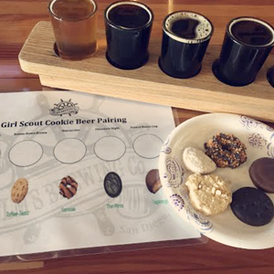 February 22 -Girl Scout Cookie & Beer Pairing