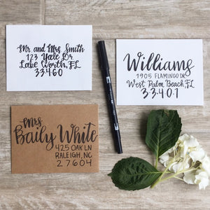 January 24 - Brush Lettering Basics