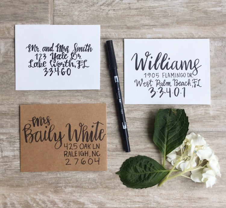 February 21 - Brush Lettering Basics