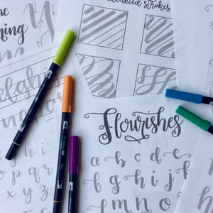 November 2 - Modern Brush Lettering Fun!