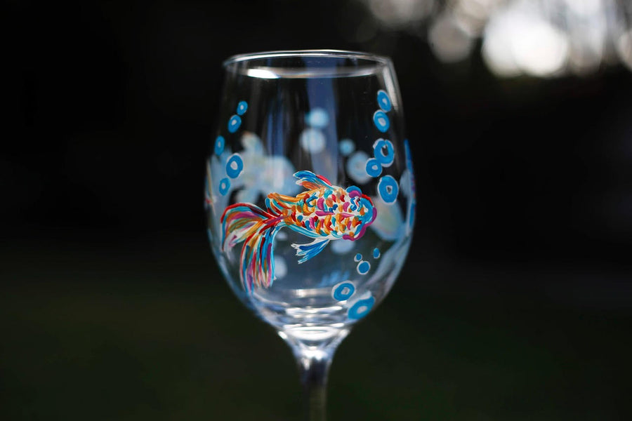 Private Wine Glass Painting Party