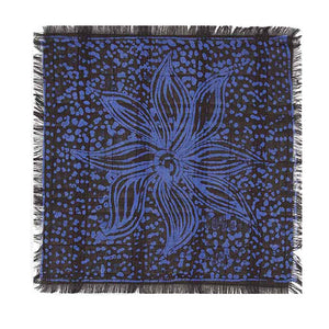 ADIRE GALACTIC MOTIF POCKET SQUARE - Post-Imperial