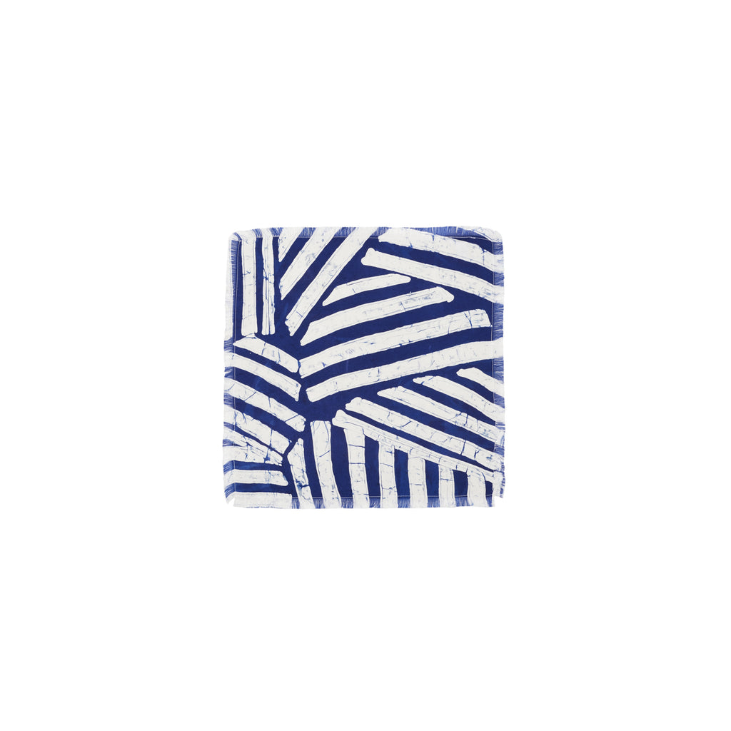 ABSTRACT STRIPE POCKET SQUARE
