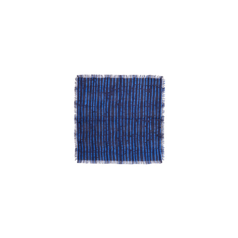 BROKEN STRIPE POCKET SQUARE