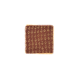 CROSS DOT PATTERN POCKET SQUARE - Post-Imperial