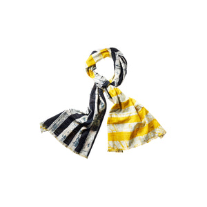 DOUBLE SIDED STRIPE COMBO SCARF - Post-Imperial
