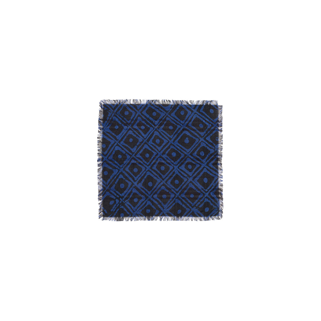 FAMILY HOUSE PATTERN POCKET SQUARE - Post-Imperial