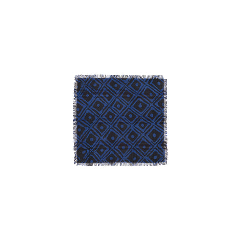 FAMILY HOUSE PATTERN POCKET SQUARE