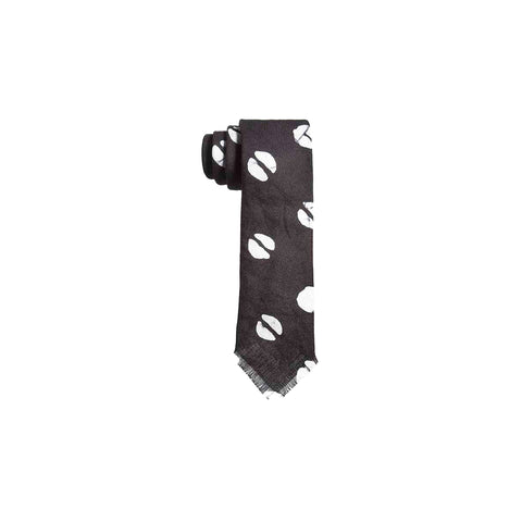 SPLIT DOT PATTERN TIE