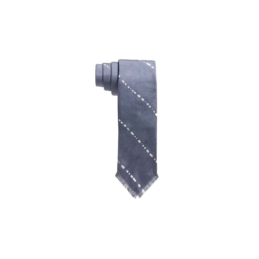 WIDE PENCIL STRIPE TIE