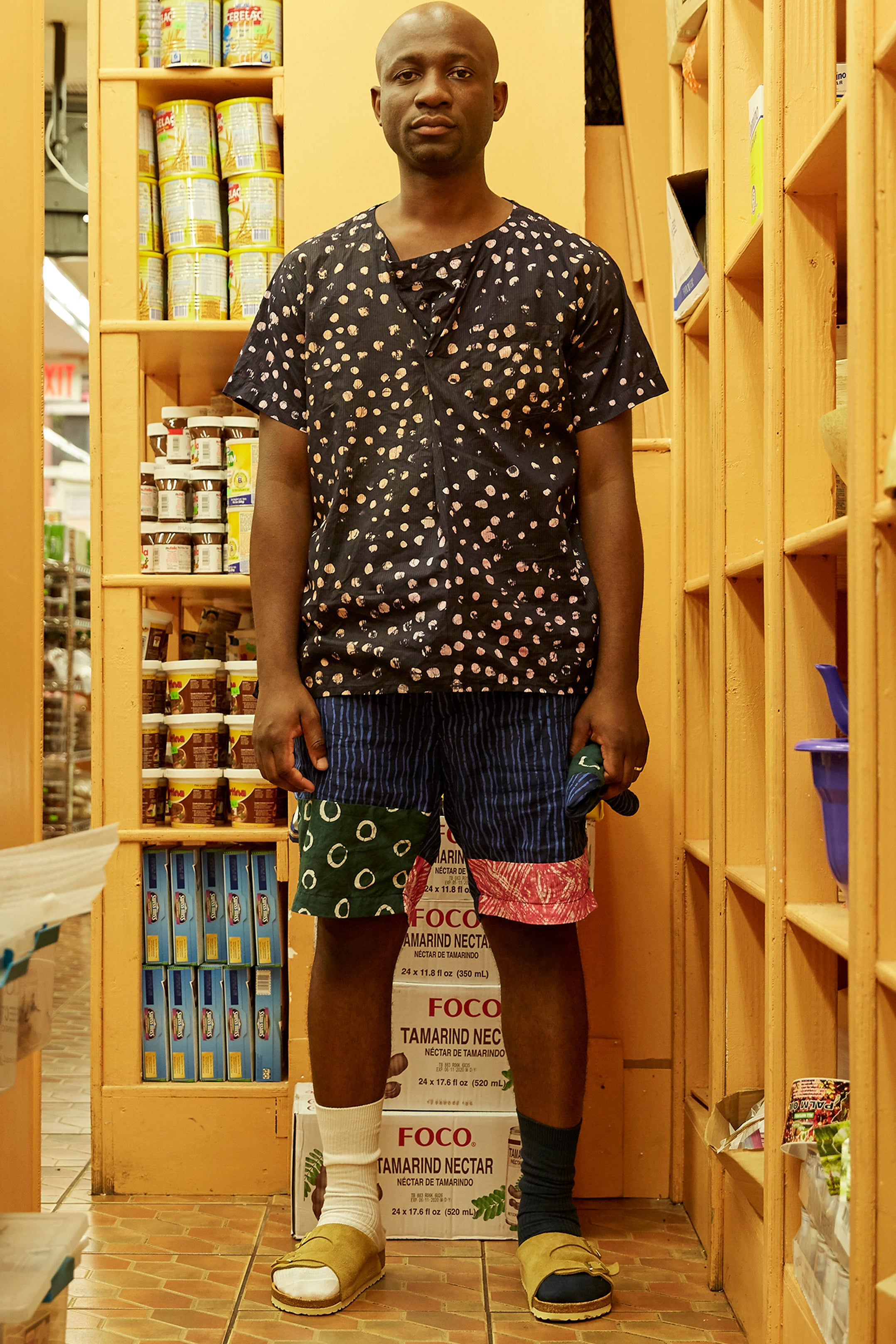ENGINEERED GARMENTS/POST-IMPERIAL PATCHWORK GHURKA SHORT - Post-Imperial