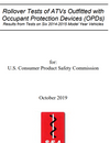 US Consumer Product Safety Commission (CPSC) ATV Crush Protection Device