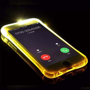 Coloured Light Up Selfie iPhone Case
