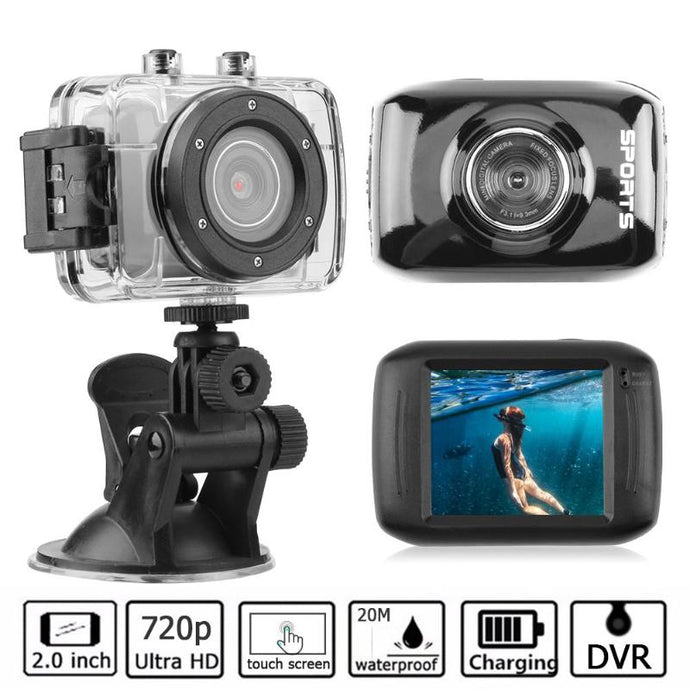 Waterproof Touchscreen HD Action Camera