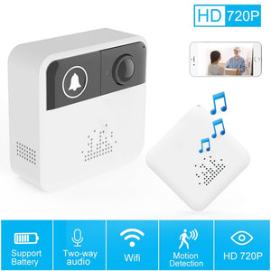 720p HD Two-Way Doorbell Camera System