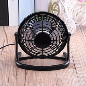 4 Blade Silent USB Desk Fan