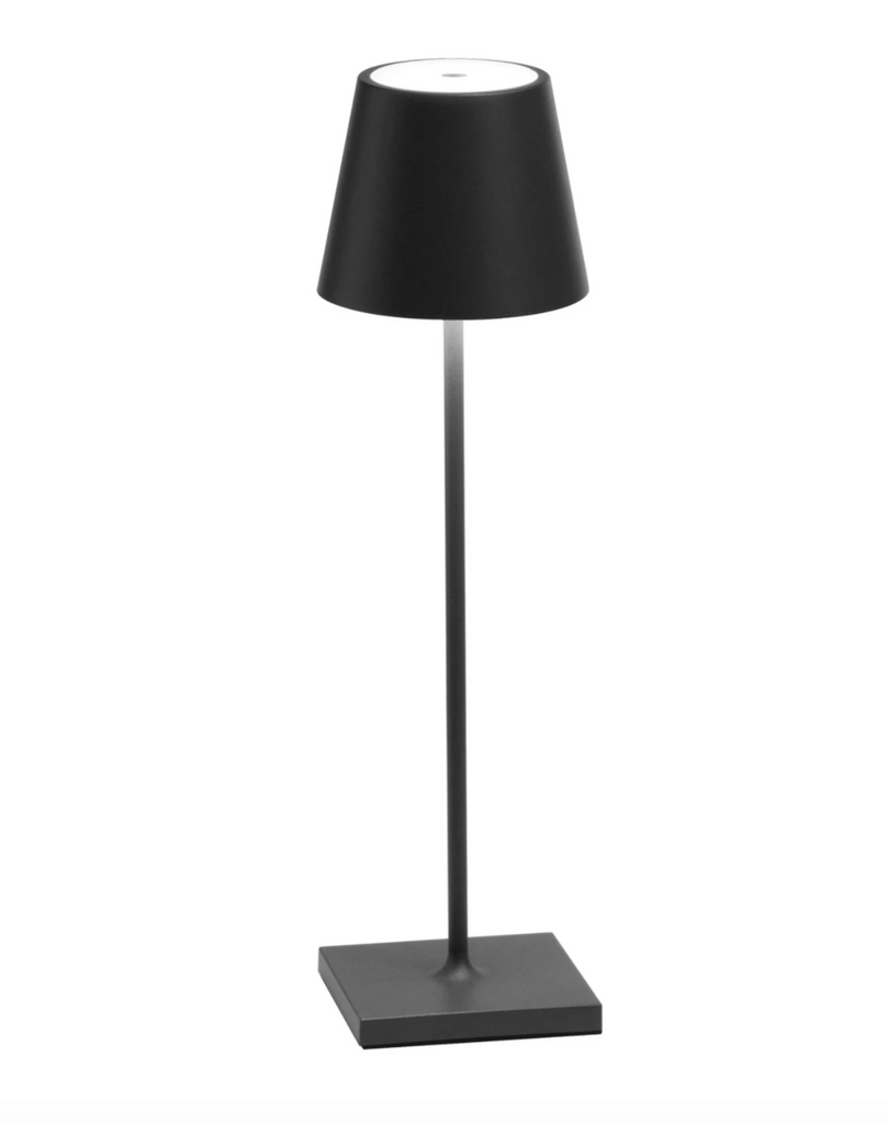 Outdoor Table Light - Dark Grey