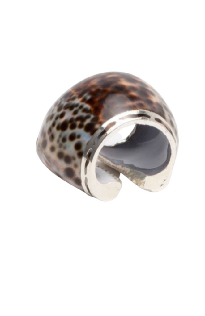 Tiger Shell Napkin Ring
