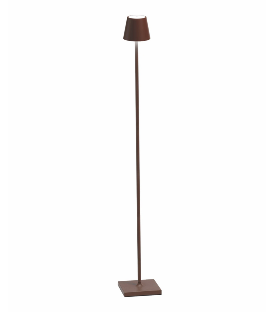 Outdoor Floor Lamp - Rust