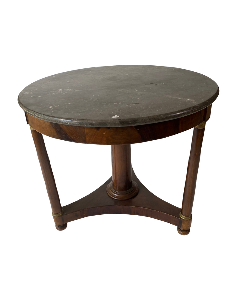 Walnut Round Table Circa 1840