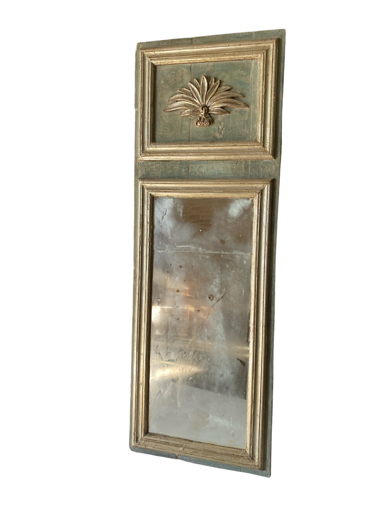 CRS - Italian Painted Trumeau Mirror