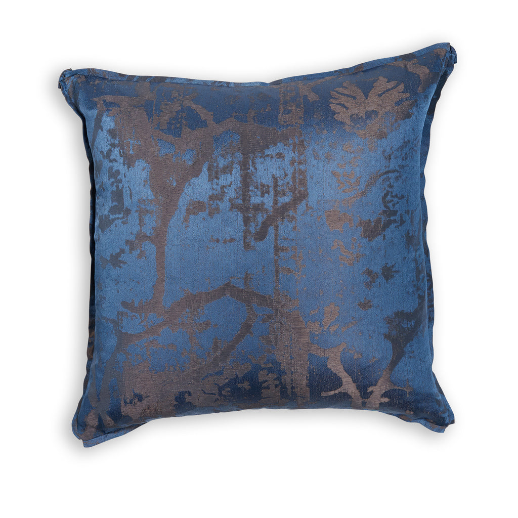 Gilded Floral Pillow