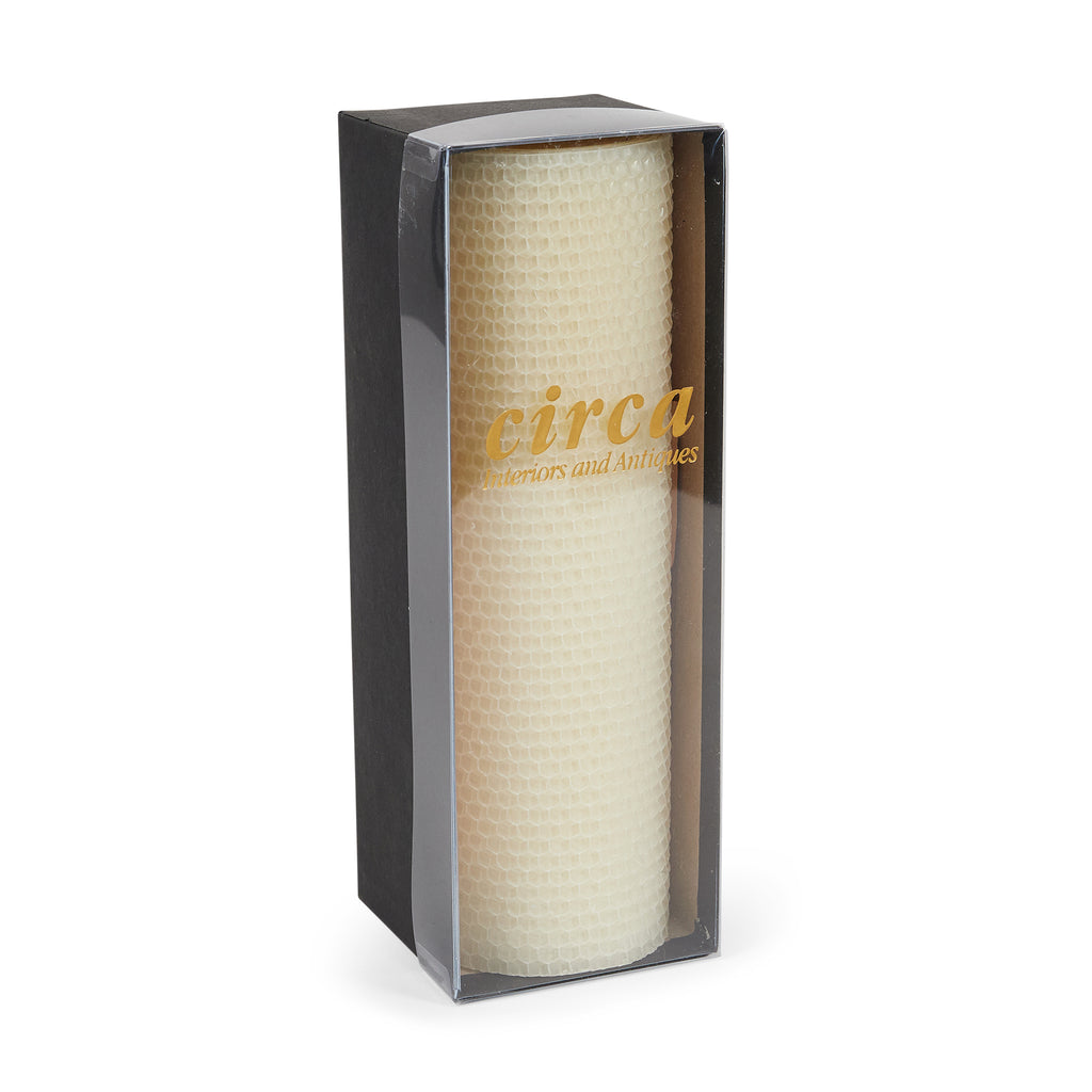 Honeycomb Pillar Candle