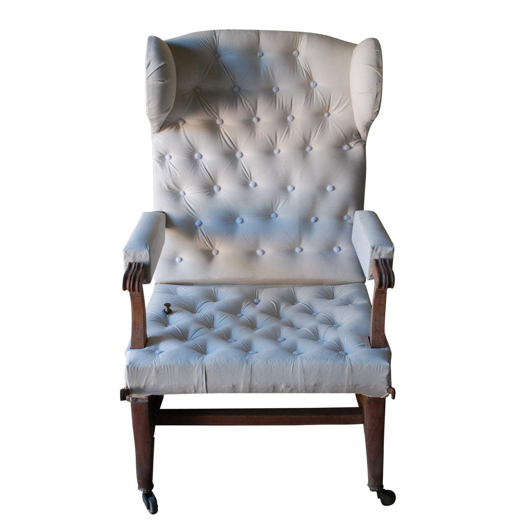 French Bergere Recliner Armchair