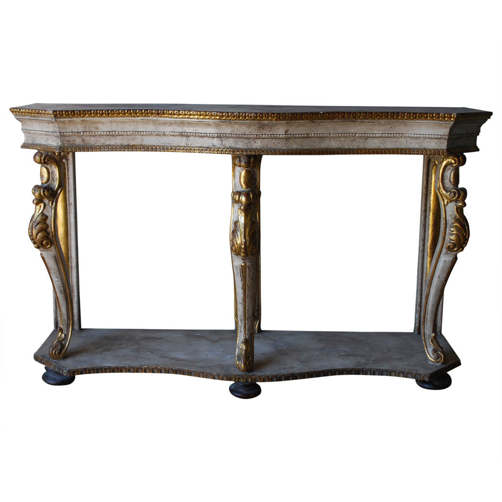 Italian Gilt Carved Console