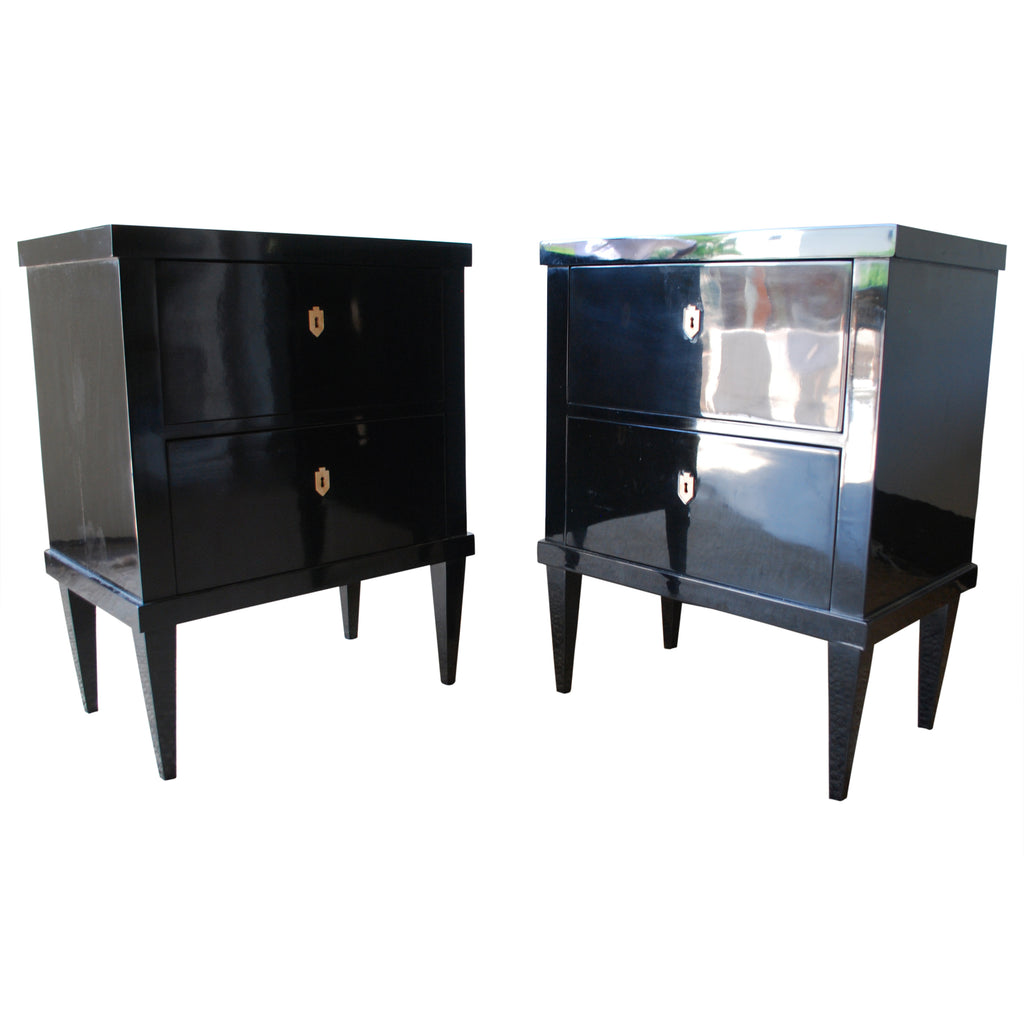 Small Black Laquer Chest