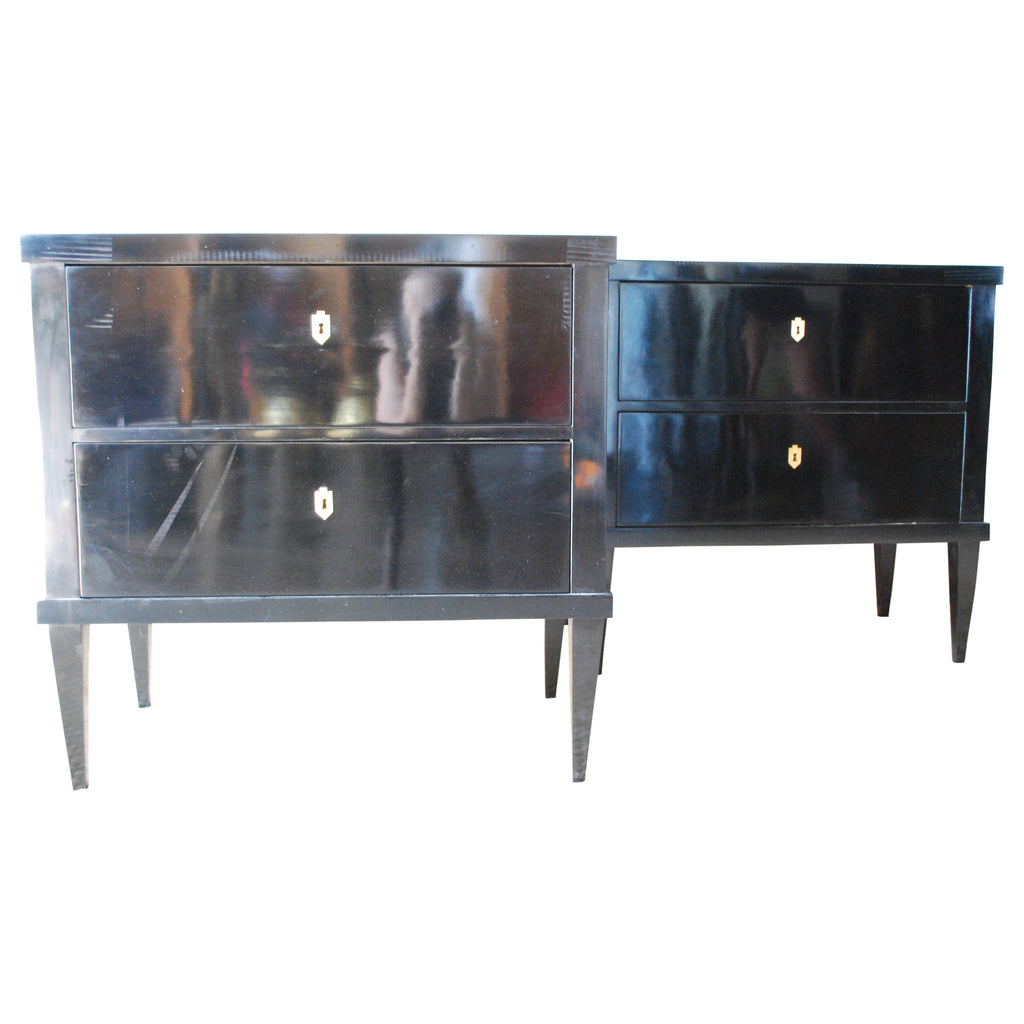 Medium Black Laquer Chest
