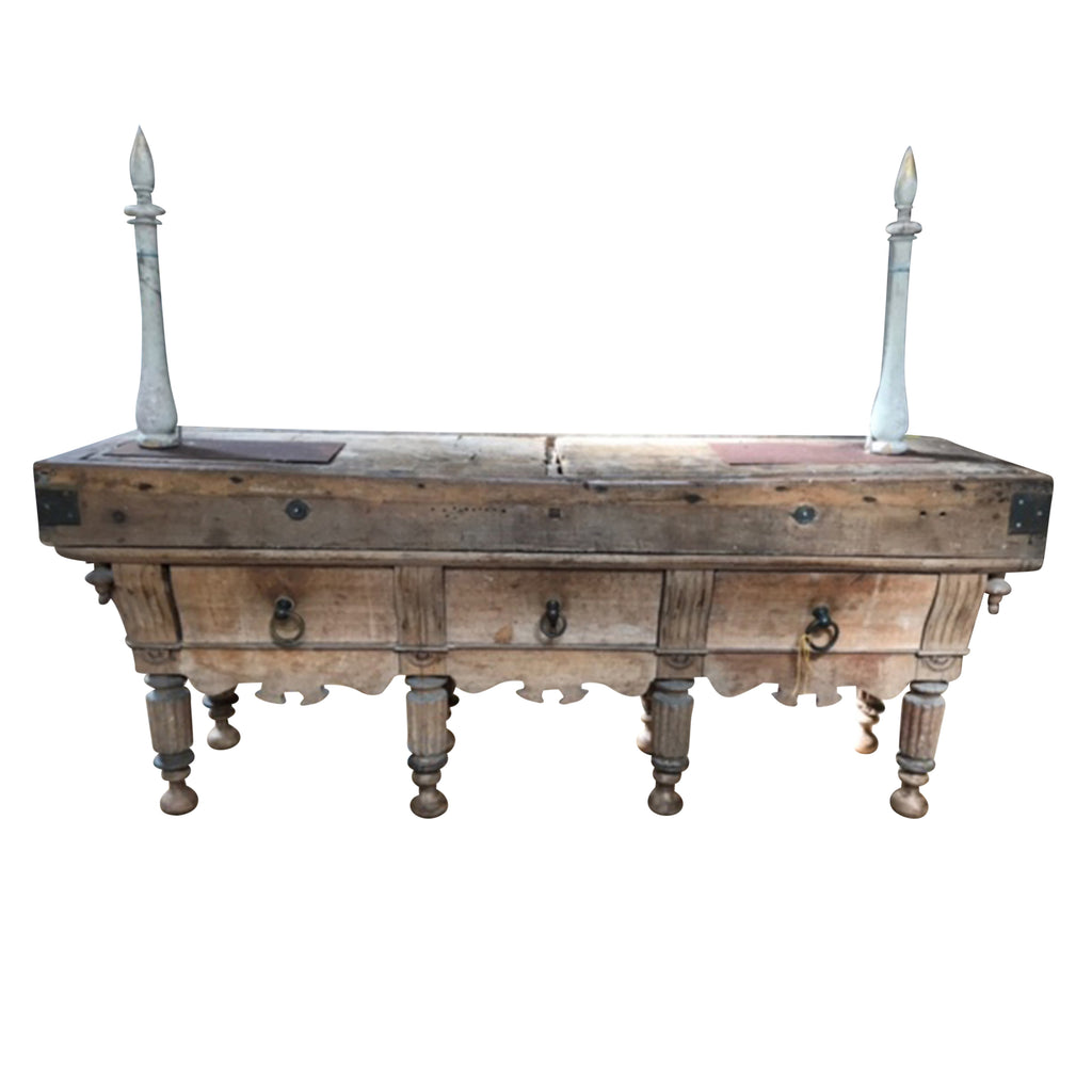 French Camargue Butchers Table