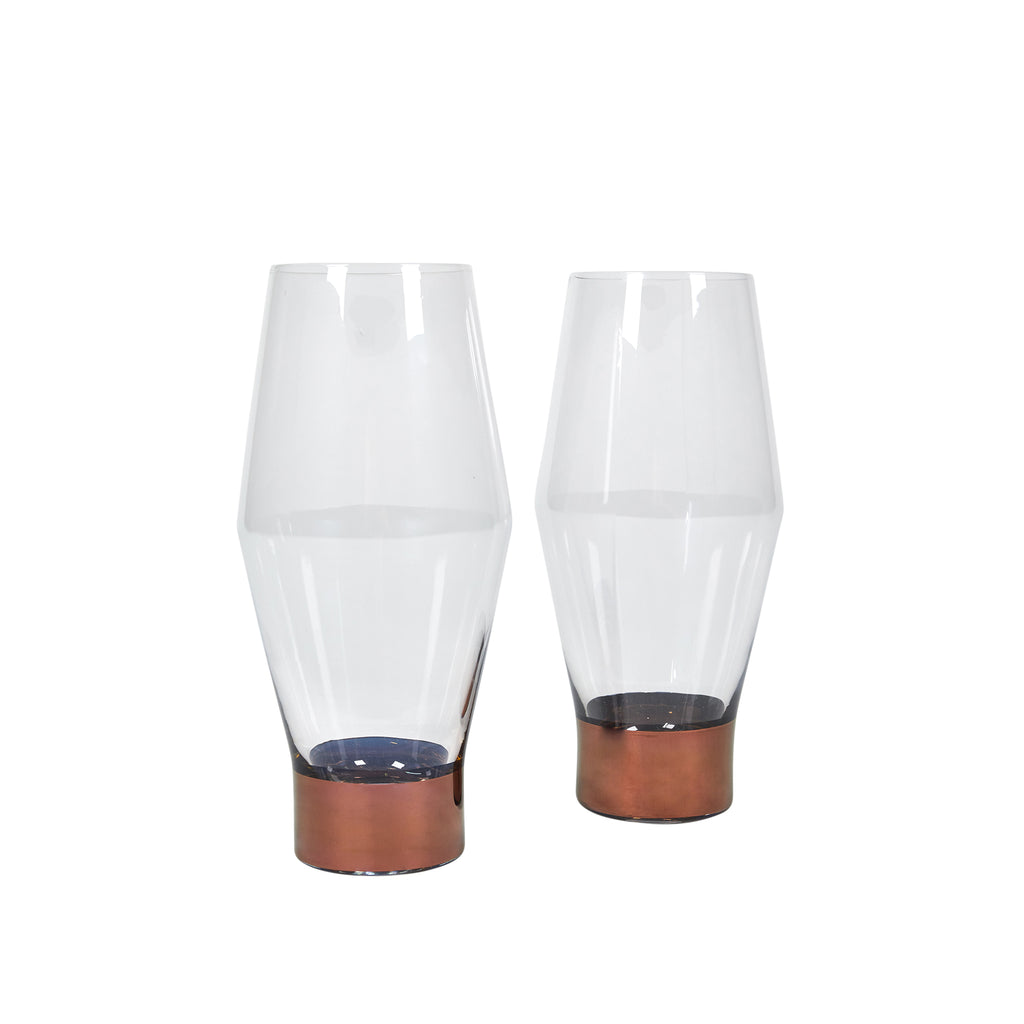 Tank Copper Beer Glass (pair)
