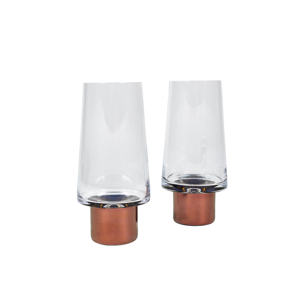 Tank Copper High Ball Glass (pair)