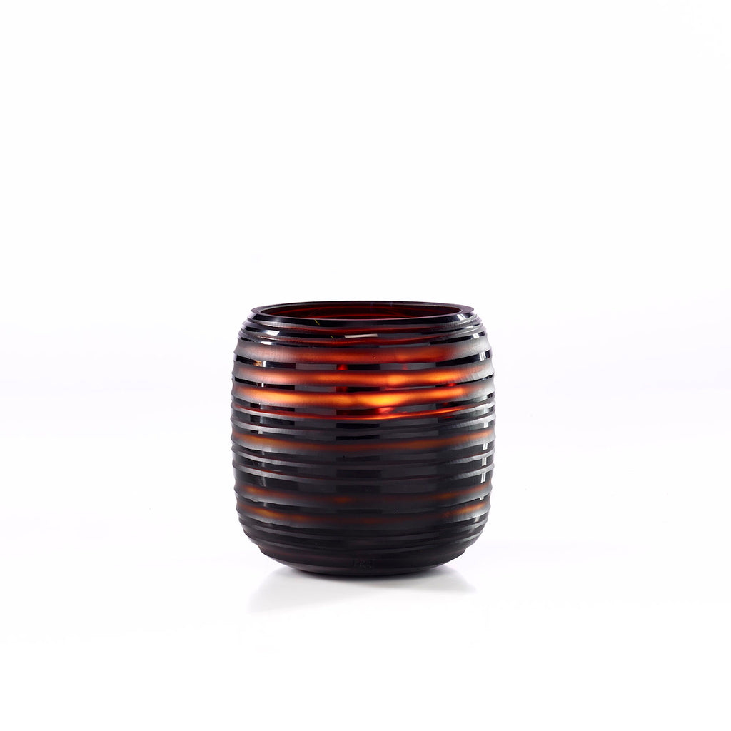 LARGE ONNO SPHERE CANDLE, GINGER FIG SCENT