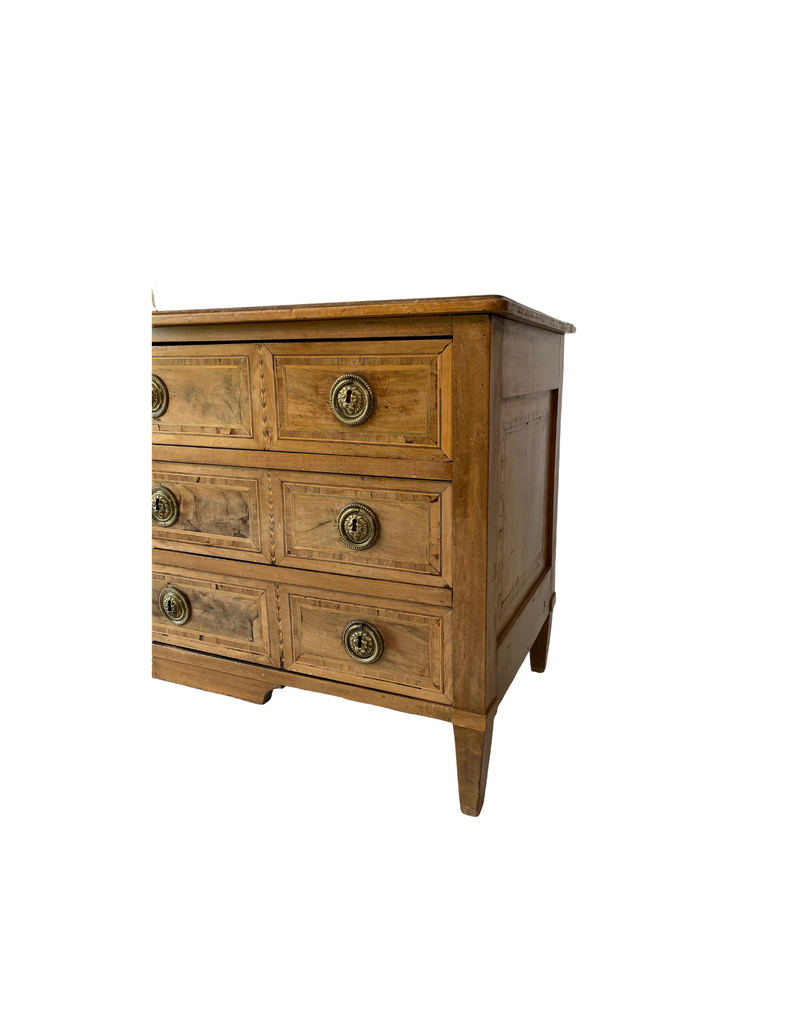 Louis XVI Faded Walnut Chest