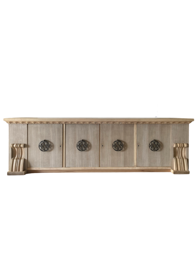 CRS - French Oak Sideboard, circa 1940
