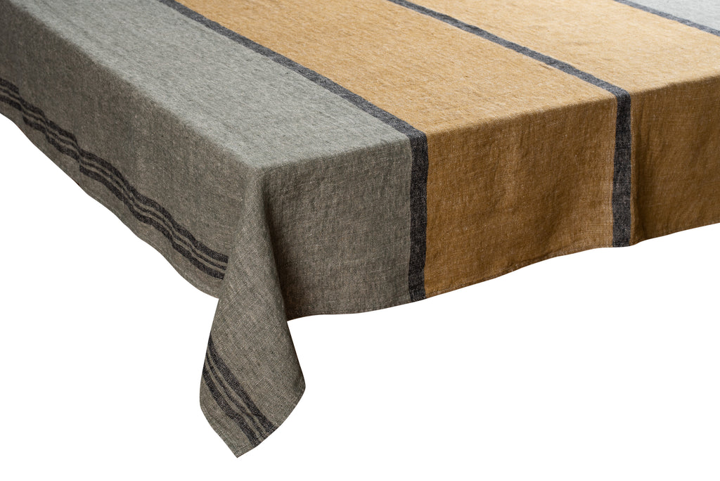 Rimini Tablecloth - Meleze Linen - 67x118